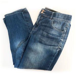LANE BRYANT Plus Size 18 Crop Style Blue Jeans